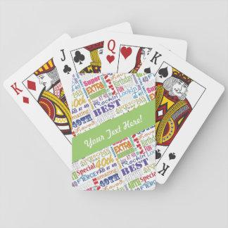 Jogo De Carta Presentes originais e especiais do partido de