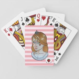 Jogo De Carta Princesa dos áss - cartões de jogo clássicos