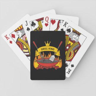 Jogo De Carta Rei da grade