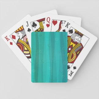 Jogo De Carta Seashells nos cartões de jogo das ondas