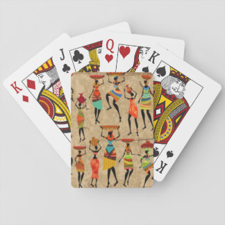 Jogo De Carta Senhoras africanas da dança