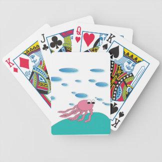 Jogo De Carta Sob os cartões do mar
