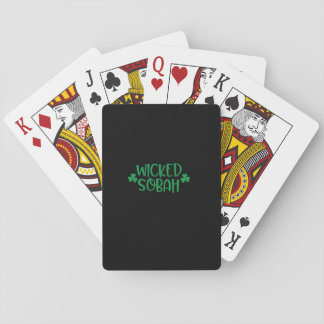 Jogo De Carta Sobah mau, cartões de jogo