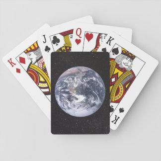 Jogo De Carta Terra do planeta do Dia da Terra do espaço