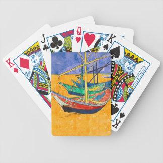 Jogo De Carta Van Gogh que pinta barcos famosos