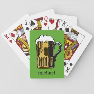 Jogo De Carta Vidro de cartões de jogo feitos sob encomenda do