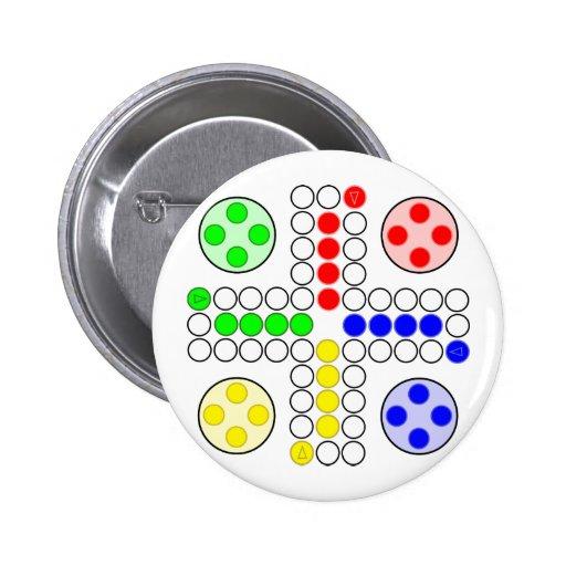 Jogo de mesa do clássico de Ludo Botons