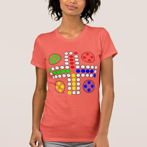 Jogo de mesa do clássico de Ludo Camisetas