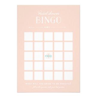 Jogo do chá de panela - Bingo Convite Personalizado