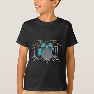 Jogo do cilindro do Aqua/turquesa: Camiseta