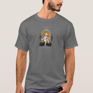 Jogo do t-shirt dos homens dos cones camiseta