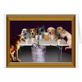 Jogo dos cães cartão