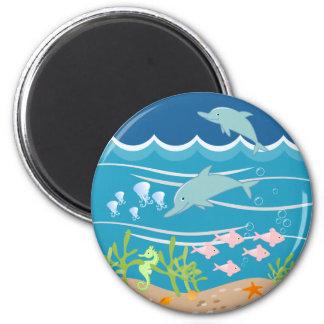 Jogo dos golfinhos imã