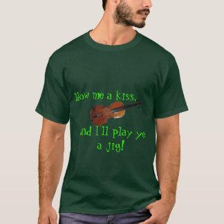 Jogo irlandês você um t-shirt do gabarito camiseta