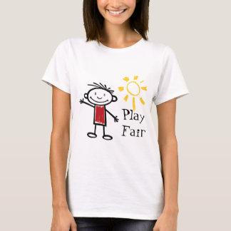Jogo justo camiseta