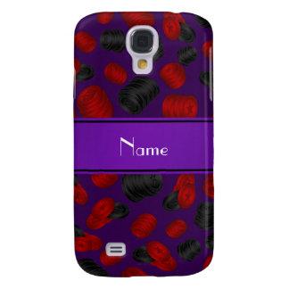 Jogo roxo conhecido personalizado dos verificadore capas personalizadas samsung galaxy s4