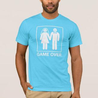 Jogo sobre a camisa do noivo - turquesa