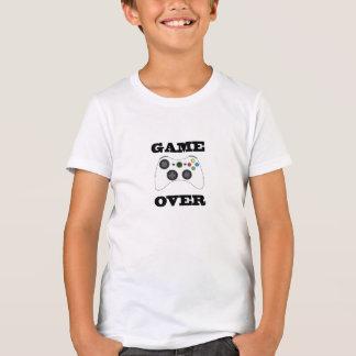 Jogo sobre a camisa dos miúdos