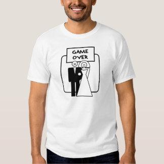 """""""Jogo sobre"""" o casamento Camiseta"""