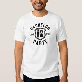 Jogo sobre o despedida de solteiro tshirts