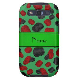 Jogo verde conhecido personalizado dos verificador capa personalizadas samsung galaxy s3
