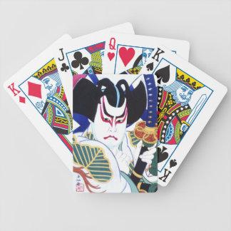 Jogos De Baralho Arte do ator de Kabuki do japonês pelo 名取春仙 de