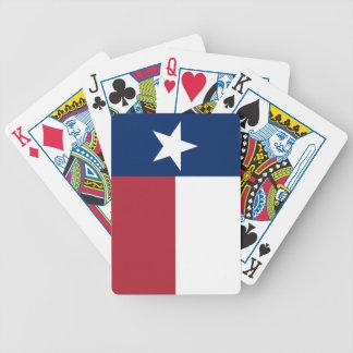 Jogos De Baralho Bandeira azul branca vermelha de Texas