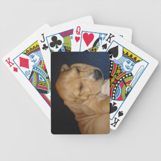 Jogos De Baralho Cartões de jogo do filhote de cachorro do sono