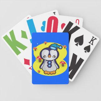Jogos De Baralho Cartões de jogo do póquer de Bicycle® com pinguim