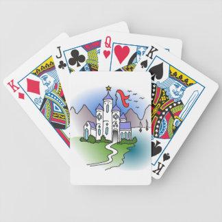 Jogos De Baralho Castelo e montanhas