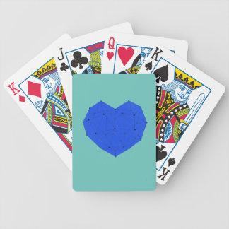Jogos De Baralho Coração geométrico