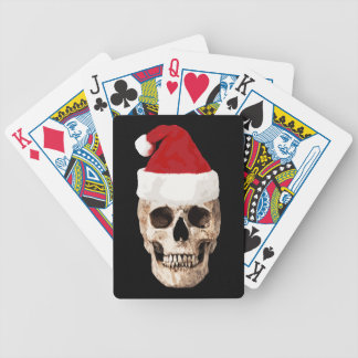 Jogos De Baralho Crânio de Papai Noel - o Natal está inoperante