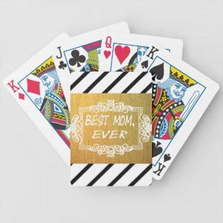 Jogos De Baralho O melhor presente do ouro do dia das mães da mamã