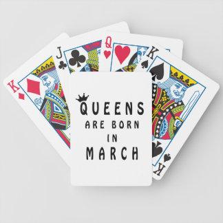 Jogos De Baralho O Queens é nascido em março