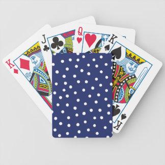 Jogos De Baralho Teste padrão de pontos dos confetes dos azuis