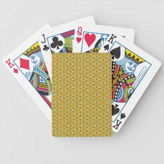 Jogos De Baralho Teste padrão triangular amarelo