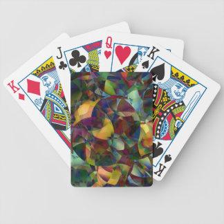 Jogos De Baralhos Arte abstracta colorida, Kaleidoscopic