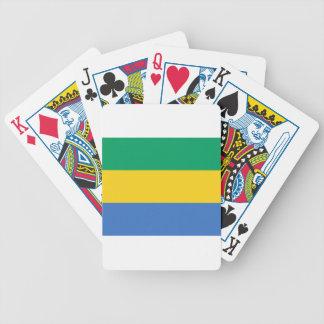 Jogos De Baralhos Baixo custo! Bandeira de Gabon