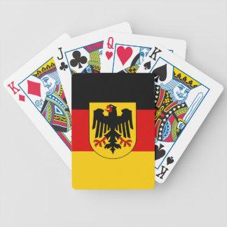 Jogos De Baralhos Bandeira de Alemanha - Bundesdienstflagge