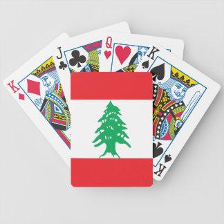 Jogos De Baralhos Bandeira de Líbano
