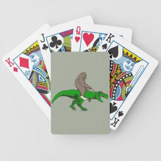 Jogos De Baralhos Bigfoot que monta T Rex