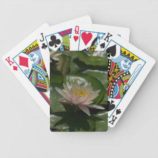 Jogos De Baralhos Cartões de jogo cor-de-rosa de Waterlilies Lotus