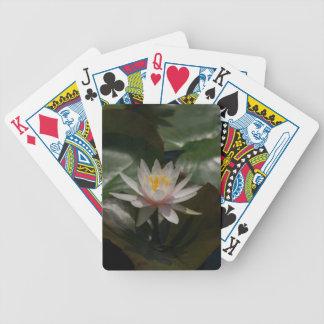 Jogos De Baralhos Cartões de jogo cor-de-rosa de Waterlily Lotus