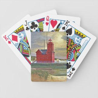 Jogos De Baralhos Cartões vermelhos grandes superiores da pintura a
