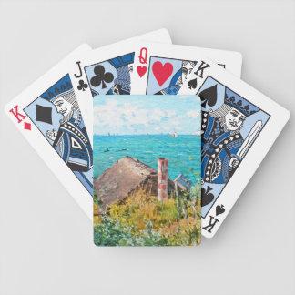 Jogos De Baralhos Claude Monet a cabine em belas artes do