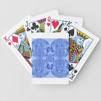 Jogos De Baralhos Esferas psicadélicos azuis