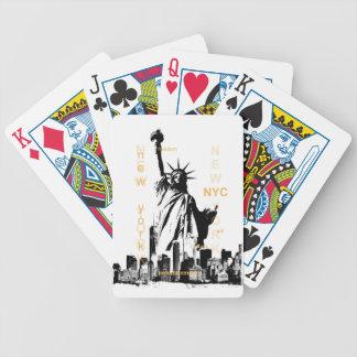 Jogos De Baralhos Estátua da liberdade de Ny Nyc da Nova Iorque