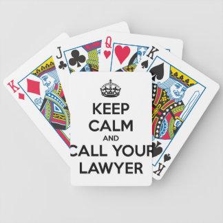 Jogos De Baralhos Mantenha a calma e chame seu advogado