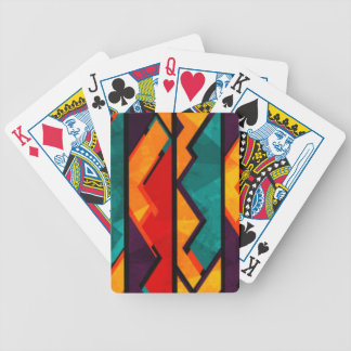Jogos De Baralhos Multi design colorido africano do impressão do
