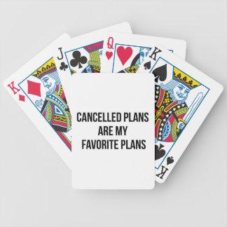 Jogos De Baralhos Planos cancelados